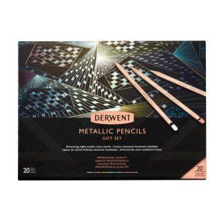 Derwent Metallic metálceruza ajándék készlet, 20 db