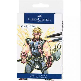 Faber-Castell 3D képregény rajzszett