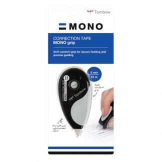 Tombow MONO Grip hibajavító, fekete, 5 mm