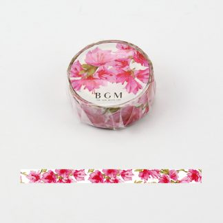 BGM washi tape 15mm x 7m - Four Seasons Pink