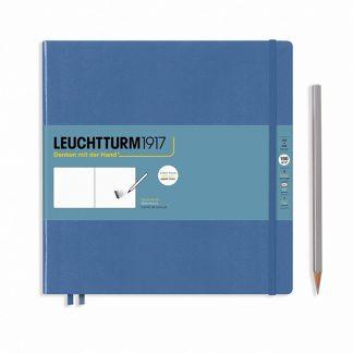 Leuchtturm Quadrat Sketchbook - Denim