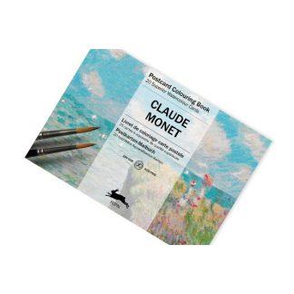 Pepin felnőtt színező, képeslap - Claude Monet
