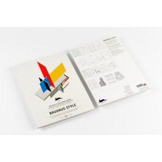 Pepin felnőtt színezőkönyv, Bauhaus minták