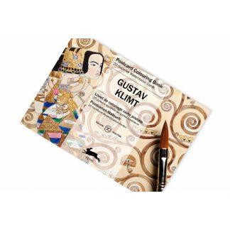 Pepin, Gustav Klimt képeslap felnőtt színező