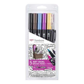 Tombow ABT Dual Brush Pen - 5+1 db 'Tot-aber-Lustig'