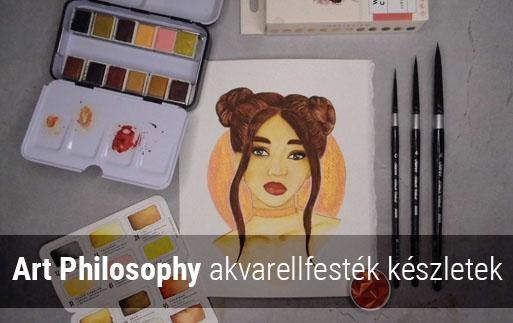 Art Philosophy akvarellfestékek