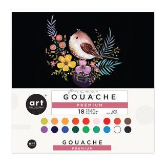 Art Philosophy Gouache készlet, 18 db