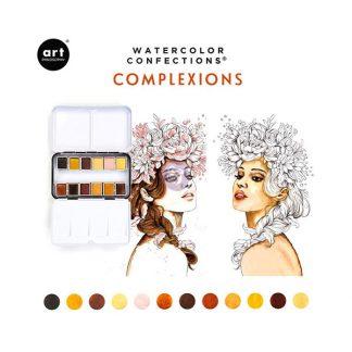 Art Philosophy Watercolor Confections - Complexion