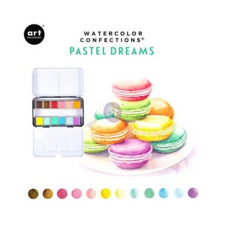 Art Philosophy Watercolor Confections - Pastel Dreams