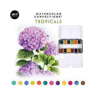 Art Philosophy Watercolor Confections - Tropicals